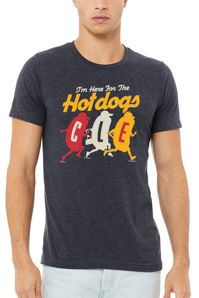 Im Here For The Hot Dogs CLE - Unisex Crew
