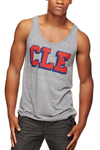 CLE College Navy/Red - Unisex Tank - CLE Clothing Co.