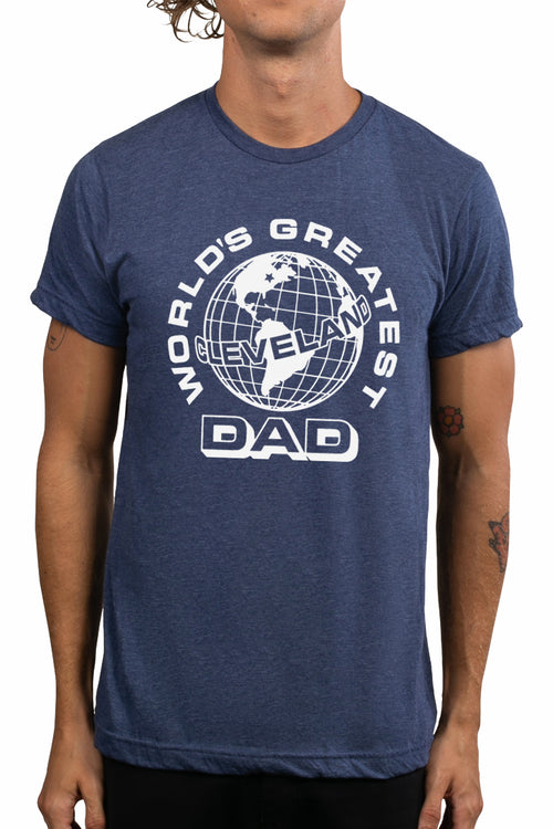 Worlds Greatest Cleveland Dad - Unisex Crew