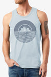 Cleveland Sunset - Unisex Tank - CLE Clothing Co.