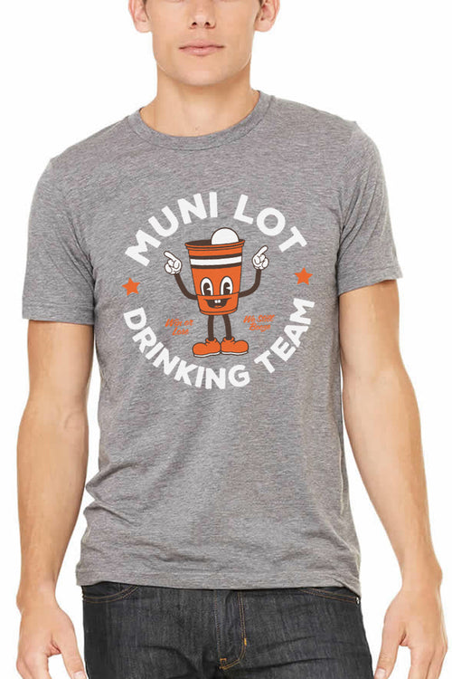 Muni Lot Drinking Team - Unisex Crew
