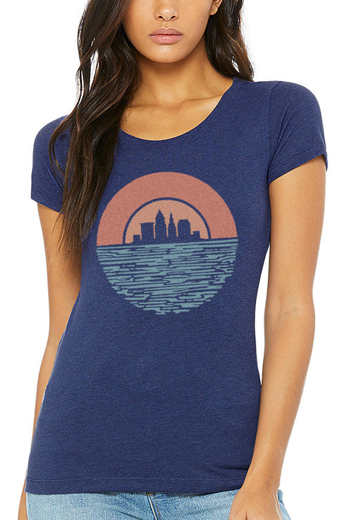 Cleveland Sunset - Womens Crew