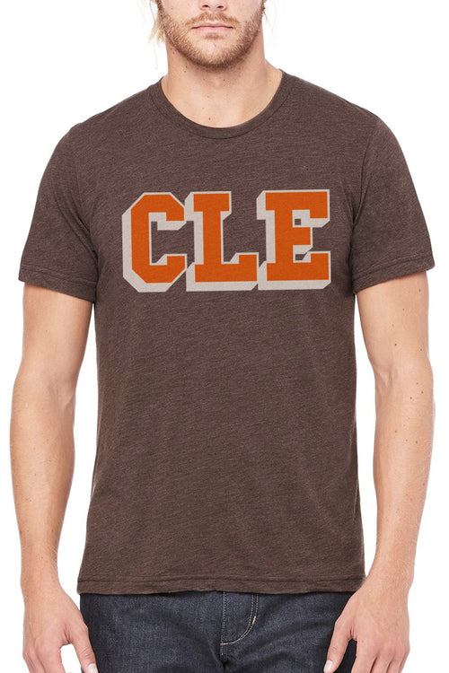 CLE College Brown & Orange - Unisex Crew