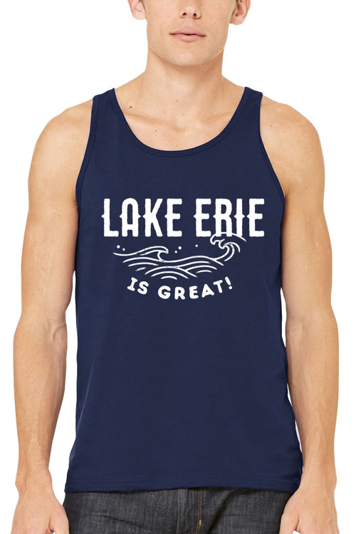Lake Erie is Great Waves - Unisex Tank