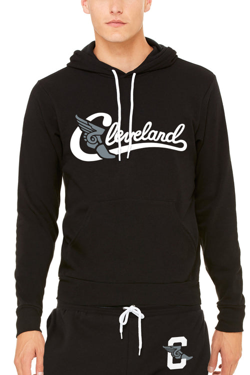 Cleveland Athletic Script- Unisex Pullover Hoodie