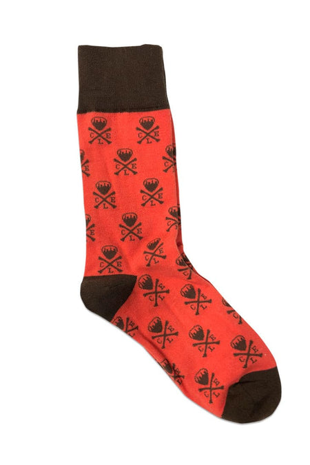 CLE College Socks - Navy/Red