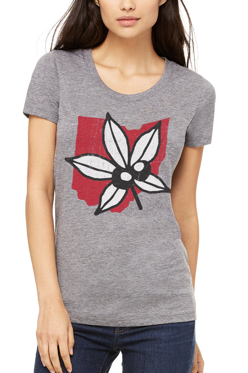 Buckeye State Icon - Womens Crew - CLE Clothing Co.