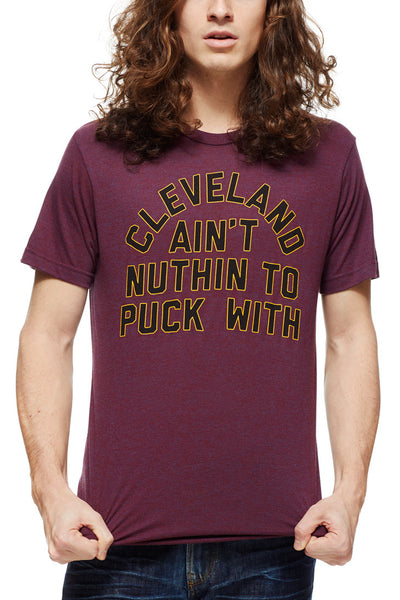 Ain't Nuthing To Puck With - Unisex Crew - CLE Clothing Co.