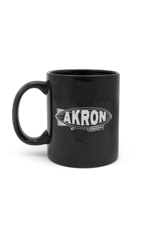 Akron Blimp Coffee Mug - CLE Clothing Co.
