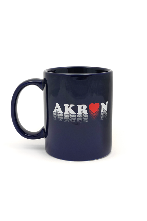 Akron Love Coffee Mug - CLE Clothing Co.