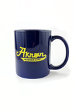 Akron Script Coffee Mug - CLE Clothing Co.