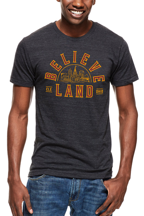 Believeland Wine & Gold - Unisex Crew