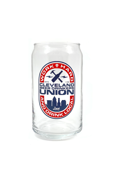 Beer Drinkers Union Pop Can Glass