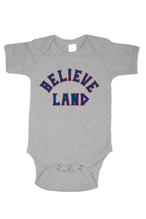 Believeland - Navy/Red - Onesie