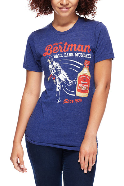 Bertman Original Ballpark Mustard - Unisex Crew - CLE Clothing Co.