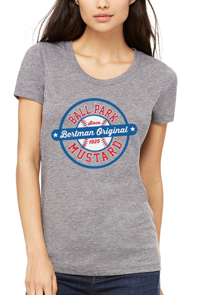Bertman Ballpark Mustard Seal - Women's Crew - CLE Clothing Co.