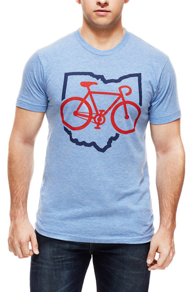 Bike Ohio - Unisex Crew - CLE Clothing Co.
