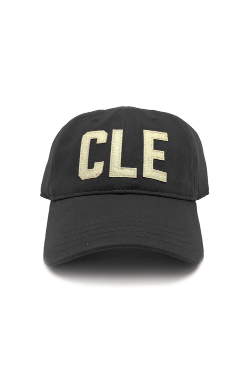 "CLE - ""Dad Hat"" - Black - CLE Clothing Co."
