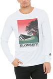 Blossom Sunset - Unisex Long Sleeve Crew