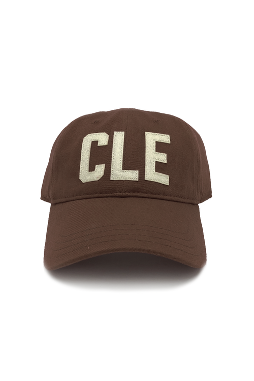 "CLE - ""Dad Hat"" - Brown - CLE Clothing Co."