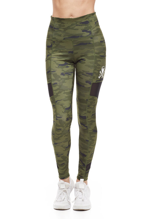 Cleveland Clothing Official Legging - Olive Camo