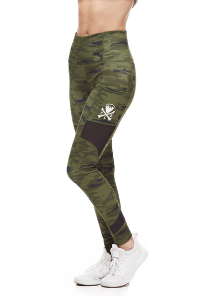 Cleveland Clothing Official Legging - Olive Camo - CLE Clothing Co.