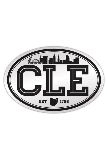 CLE Logo - Black - Fridge Magnet