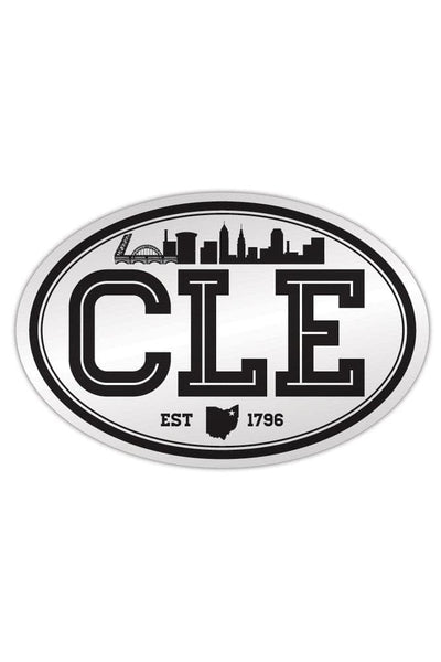 CLE Cityscape - Sticker - CLE Clothing Co.