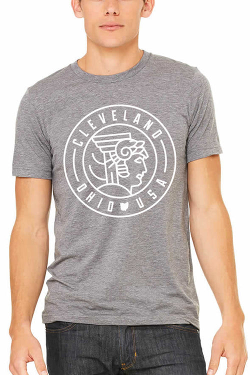 Cleveland Guardian Seal - Unisex Crew - CLE Clothing Co.