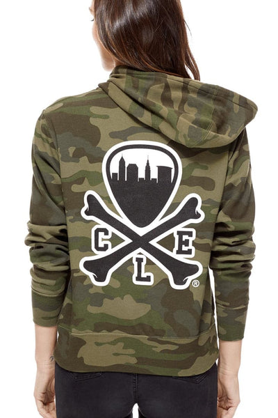 CLE Logo Hoodie - Camo - CLE Clothing Co.