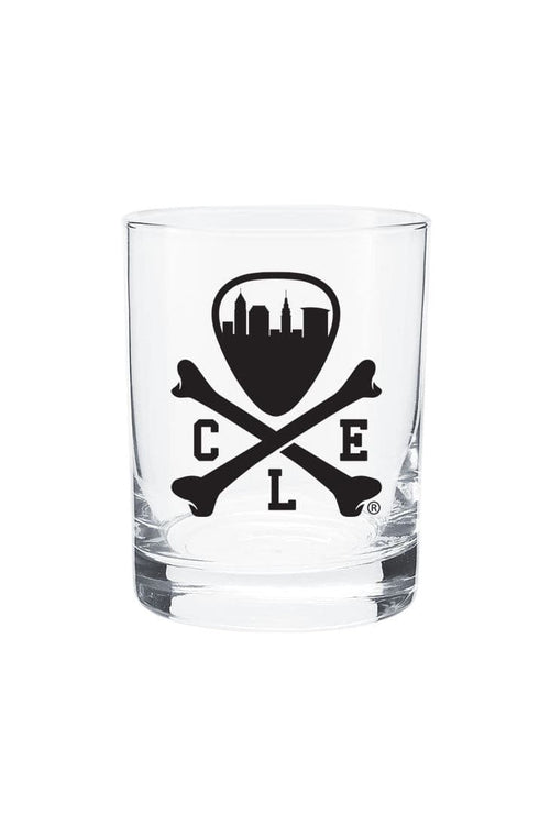 CLE Logo Old Fashioned Glass