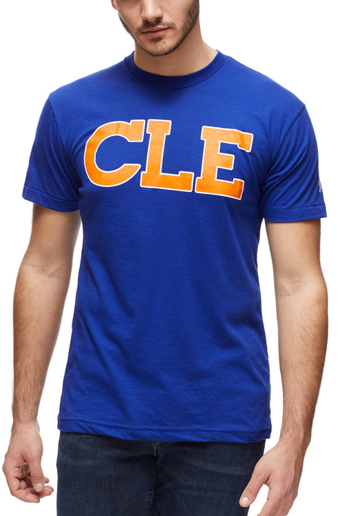 CLE Old School 80's - Blue/Orange - Unisex Crew