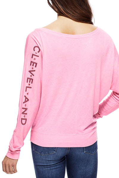 Cleveland Sweetheart - Women's Flowy Off-Shoulder