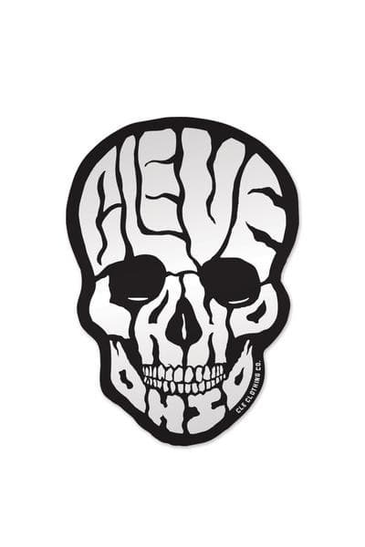 Cleveland Skull - Sticker - CLE Clothing Co.