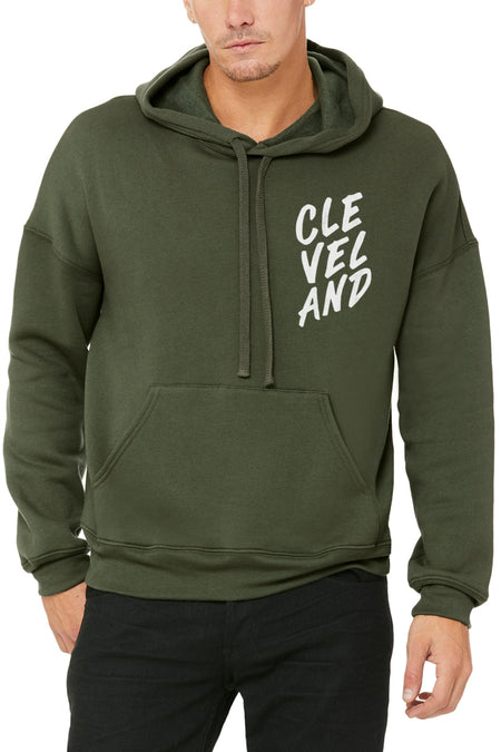 CLE Heart - Unisex Fleece Crewneck Sweatshirt