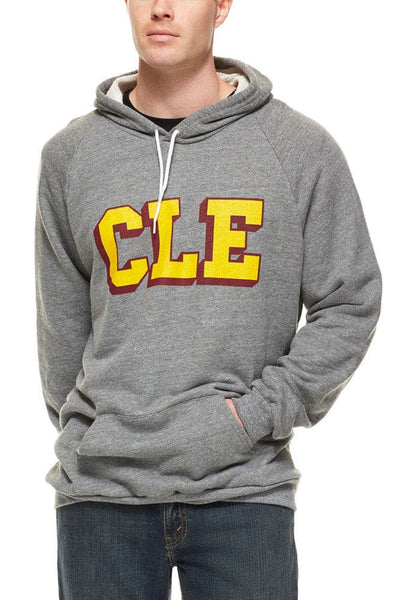 CLE College -Wine/Gold - Pullover Hoodie