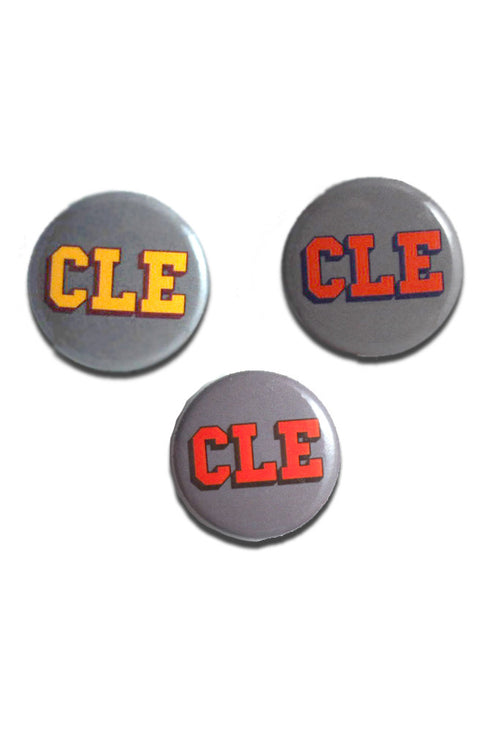CLE College Button Set - CLE Clothing Co.