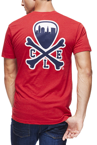 CLE Logo - Ballpark Red - Unisex Crew