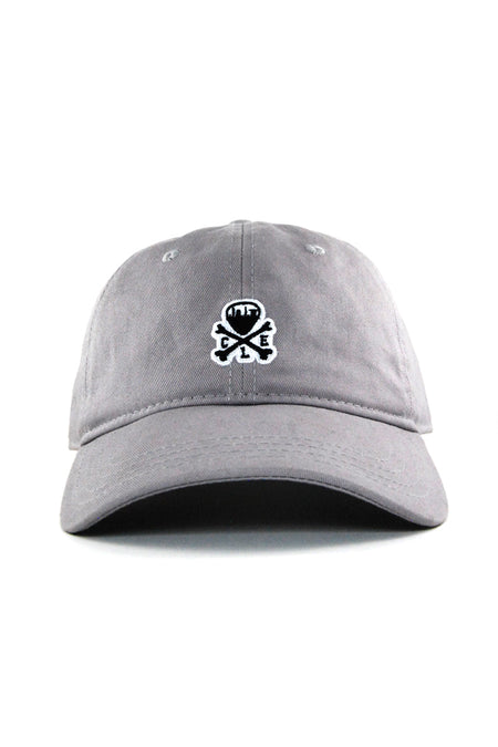 Cleveland Soccer Club Logo - Dad Hat - Grey. CLE Mini Logo Dad Hat - Grey 085de0906b49