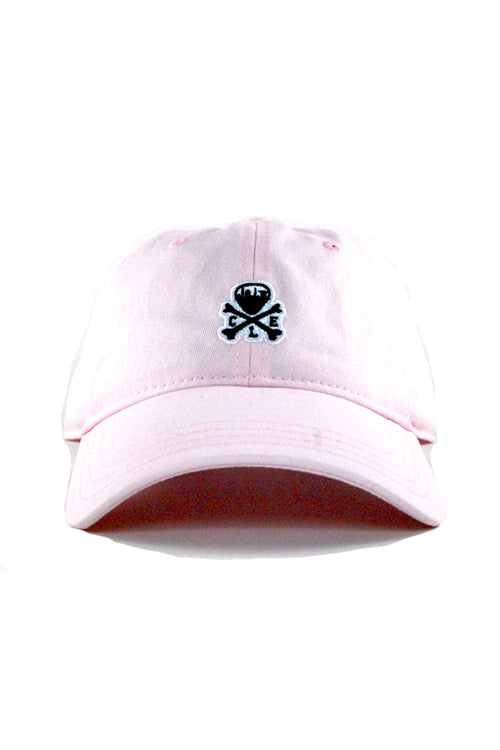 CLE Mini Logo Dad Hat - Barely Pink