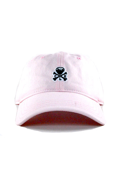 CLE Mini Logo Dad Hat - Barely Pink - CLE Clothing Co.