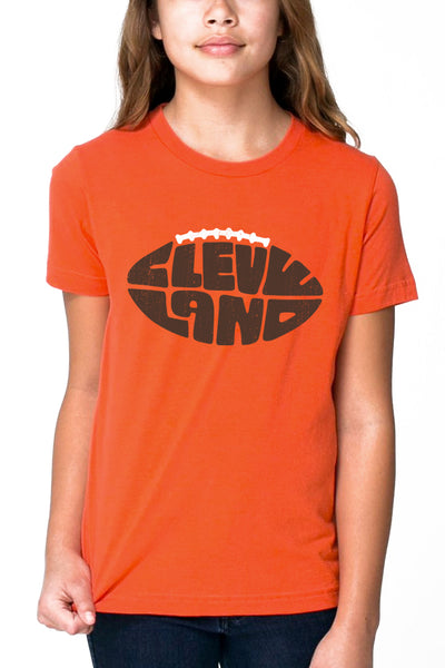 Cleveland Football Type - Kids Crew