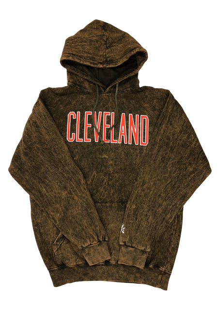 CLE College Quarter Zip Sherpa - White