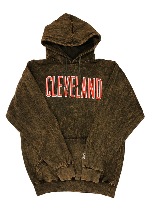 Cleveland Collegiate Block - Hoodie - CLE Clothing Co.