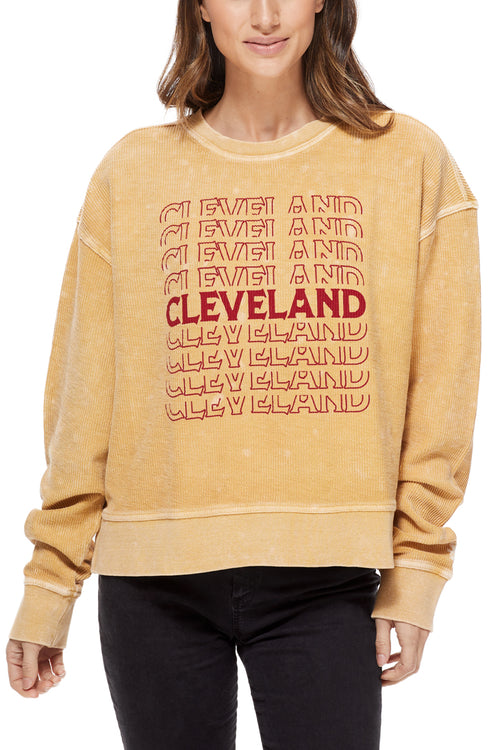 Cleveland Repeat Corded Crew - CLE Clothing Co.