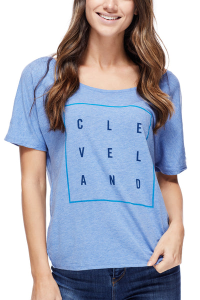 Cleveland Square - Women's Boxy Tee