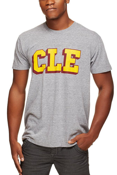 CLE College - Wine/Gold - Unisex Crew - CLE Clothing Co.