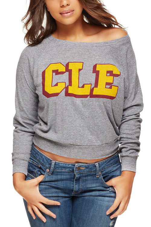 CLE College - Wine/Gold - Women's Light-Weight Pullover