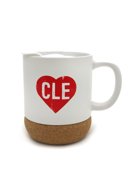 I Liked Cleveland Before It Was Cool Can Cooler - Brown/Orange