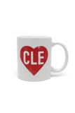 CLE Heart Coffee Mug - CLE Clothing Co.